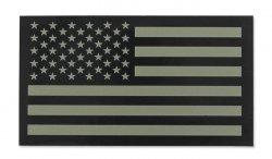 Combat-ID - Naszywka USA Lewa - Duża - TAN - Gen II