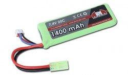 Arma Tech - Akumulator LiPo 7.4V 1400mAh 20C