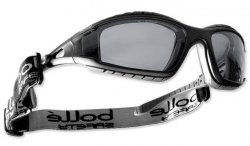 Bolle Safety - Okulary Ochronne - TRACKER II - Smoke - TRACPSF