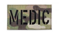 Combat-ID - Naszywka MEDIC - MultiCam - Gen II IR