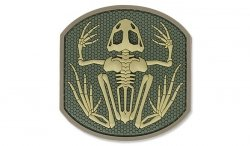 MIL-SPEC MONKEY - Morale Patch - Frog Skeleton - PVC - Multicam