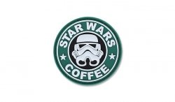 4TAC - Naszywka 3D - Star Wars Coffee