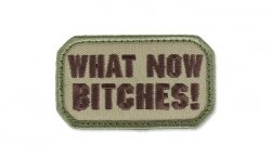 MIL-SPEC MONKEY - Morale Patch - What Now - Multicam