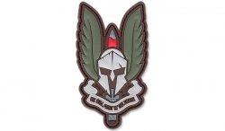 101 Inc. - Naszywka 3D - Spartan - Zielony