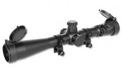 Aim-O - Luneta 3.5-10×40E-SF - Red/Green Reticle - AO 5305-BK