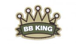 101 Inc. - Naszywka 3D - BB King - Piaskowy