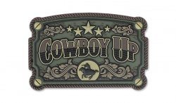 MIL-SPEC MONKEY - Morale Patch - Cowboy Up - PVC - Forest