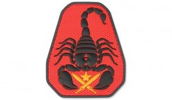 MIL-SPEC MONKEY - Morale Patch - Scorpion Unit - PVC - Full Color