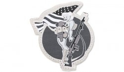 MIL-SPEC MONKEY - Morale Patch - BAR Girl - SWAT