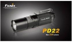 Fenix - Latarka PD22 - 210 lumenów