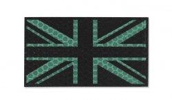 Combat-ID - Naszywka UK - Duża - Zielony - Gen I - GBG