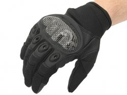 Military Combat Gloves mod. IV (Size M) - Black [8FIELDS]