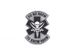 Naszywka  DO NO HARM PVC 1 [EM]