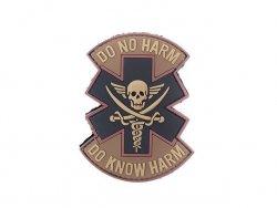 Naszywka DO NO HARM PVC 4 [EM]