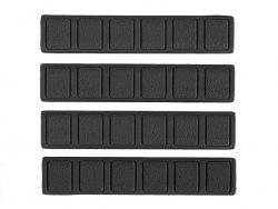 Zestaw paneli ochronnych Typ A do łoża w systemie Key-Mod - Czarny
