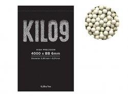 Precyzyjne kulki airsoftowe 0,25g 6mm - 4000 szt. [KILO9]