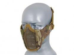 Stalowa maska siatkowa PDW - MultiCam [BD]