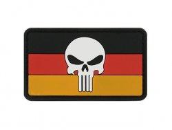 Naszywka Flag Skull GERMANY 2 [8FIELDS]