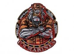 Naszywka haftowana US Marines [WaveCombat]