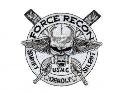 Naszywka haftowana USMC Force Recon [WaveCombat]