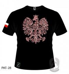 Koszulka Orzeł biało-czerwony PAT-28 [rozmiar L]