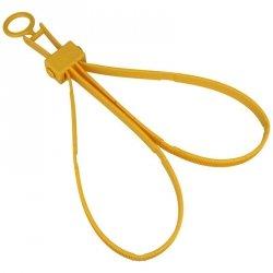 ASP - Kajdanki jednorazowe Tri-Fold Safety 6szt. Yellow (56190)