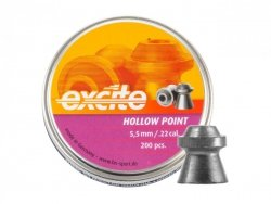 H&N - Śrut diabolo Excite Hollow Point 5,5mm 200szt.