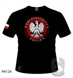 Koszulka Godło Rzeczpospolita Polska PAT-26 [rozmiar XL]