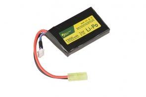 Akumulator LiPo 7.4V 1300mAh 1-modułowy 20/40C; Tamiya mały