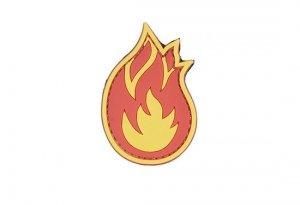 Naszywka 3D - Flame