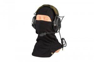 Zestaw słuchawkowy typu MSA - czarny