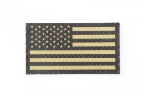 Naszywka IR - Flaga USA lewa - tan