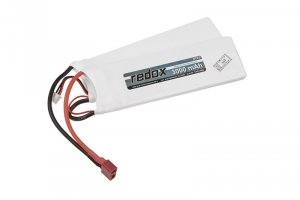 Redox - Akumulator LiPo 7,4V 3000mAh 20C T-con