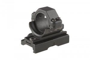 Montaż optyki 30mm QD na szynę RIS (z podwyższeniem)