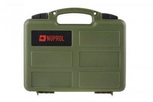 Walizka na pistolet Nuprol pistol case - zielona