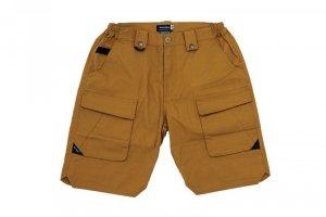 Krótkie spodnie Ergonomic Fit - Coyote Brown