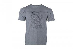 Koszulka Military Culture T-Shirt - Type E - Compet Grey