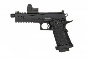 Replika pistoletu Hi-capa 5.1 Split Slide - czarna (z celownikiem BDS)