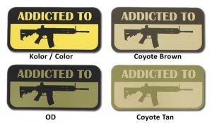 Combat-ID - Naklejka - Addicted to 416