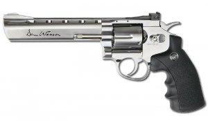 ASG - Replika CO2 Dan Wesson 6'' Revolver - Srebrny