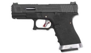 WE - Replika G19 T5 - Black - Silver Barrel