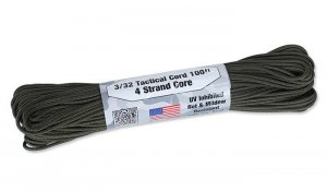 Atwood Rope - Tactical Cord 3/32 - 2,2mm - Olive Drab - 30,48m