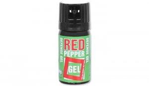 Gaz pieprzowy Defence Red Pepper - Żel - 40 ml - Strumień - 10040-S
