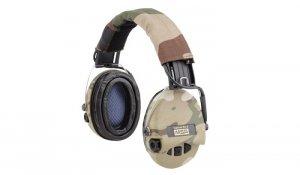 Sordin - Aktywne ochronniki słuchu Supreme Pro-X + LED -Multicam/Woodl