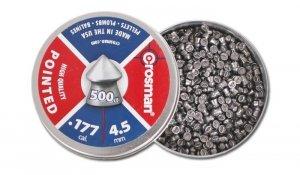 Crosman - Śrut Pointed 4,5mm 500szt.