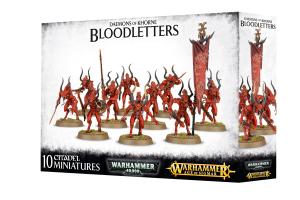 Warhammer AoS - Daemons Of Khorne Bloodletters