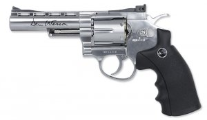 ASG - Replika CO2 Dan Wesson 4'' Revolver - Srebrny