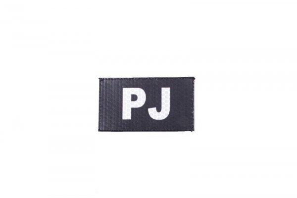 Naszywka IR - PJ - czarna
