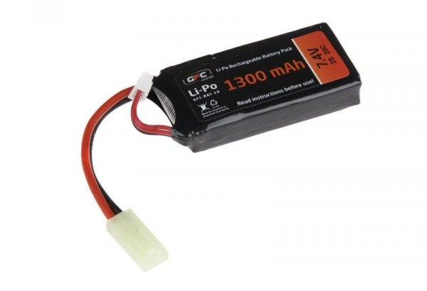 GFC - Akumulator LiPo 7,4V 1300mAh 20C