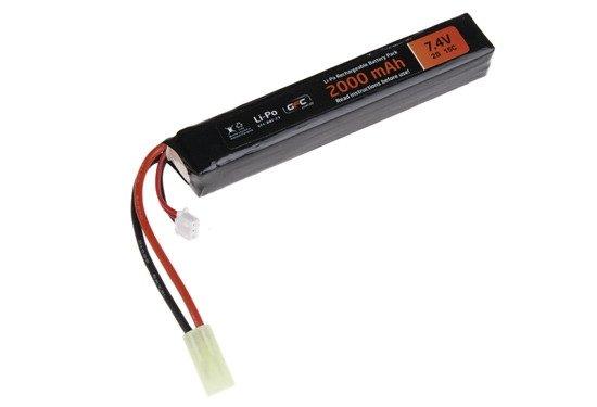 GFC - Akumulator LiPo 7,4V 2000mAh 15C